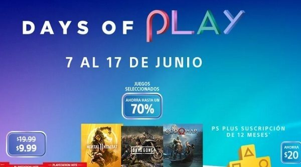 Days of Play 2019: Las mejores ofertas en videojuegos de Sony