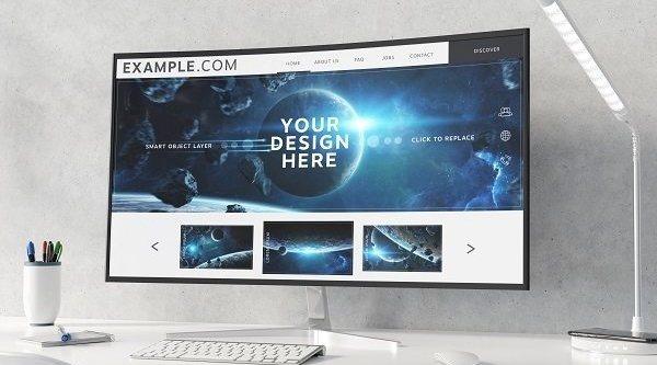 Los mejores monitores con pantalla curva por menos de 400 euros