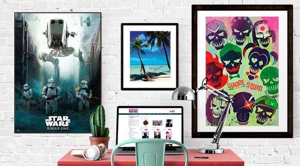9 pósters de películas para decorar tu casa