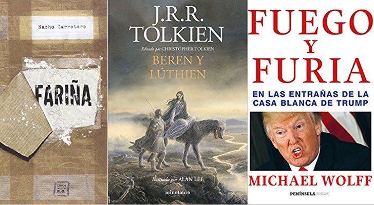 Los 10 libros más vendidos de Amazon