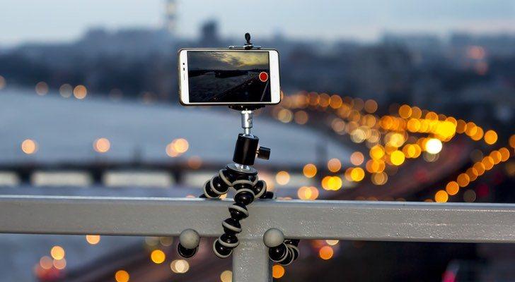 Los mejores trípodes para móviles