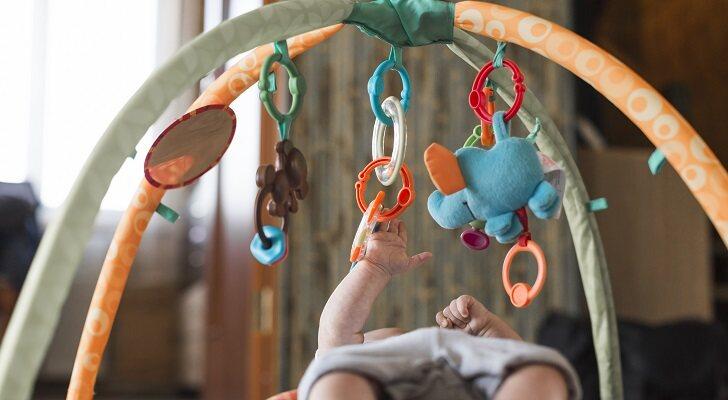 Las mejores alfombras de juego y actividades para bebé