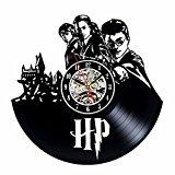 Gullei.com Reloj de pared de vinilo inspirado en Harry Potter