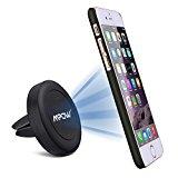 Mpow Soporte Magnético de Movíl para Rejillas del Aire de Coche, Grip Magic Car Mount Universal para iphone11/XR/XS Max/X/8/7/6/6s, Galaxy S5/S6/S7/S8 y Android Smartphone GPS Navegador