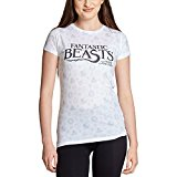 Animales fantásticos Camiseta de Las señoras Logotipo de la película de Magia Blanca Iconos de Animales Fantásticos - L