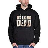 The Walking Dead Walkers Fence Sudadera con capucha Negro XL