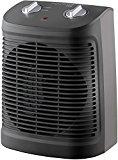 Rowenta SO2320 Comfort Compact Calefactor 2000 W, función Silence, 2 velocidades, fácil de transportar, color negro