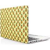 iDOO Funda dura de goma con acabado mate [Para MacBook Pro Retina 15 Pulgadas - sin unidad de CD: A1398] - Piñas