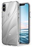 Funda Apple iPhone X Ringke [Flow] Minimalista Ondulado Con textura Ajustar Ligero Resistente a la caída Protección Diseño transparente Funda para Apple iPhone X - Transparente Clear