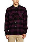 Dickies Sacramento Camisa, Morado (Plum Pl), Large (Tamaño del Fabricante:Large) para Hombre