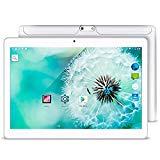 YUNTAB K98 Tablet DE 9.6 Pulgadas ( 3G, Quard-Core,Android 5.1 Lollipop - Dual cámara - Navegación GPS - Google Play - 1GB de RAM - 16GB - Batería de 5000 mha - Bluetooth 4.0 Nuevo Modelo) (Blanco)