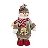 Muñecas de decoración navideña, FindaGift Monigote de nieve Figura permanente Decoración de Navidad Ornamento Juguete Regalos festivos