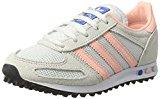 Adidas la Trainer, Zapatilla de Deporte Bajo El Cuello para Mujer, Blanco (Vintage White/Haze Coral/Clear Brown), 38 EU
