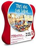 LA VIDA ES BELLA - Caja Regalo - TRES DÍAS CON SABOR - 770 hoteles 4*, casas rurales...