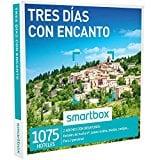 SMARTBOX - Caja Regalo -TRES DÍAS CON ENCANTO - 1075 hoteles de hasta 4*, casas rurales, masías y cortijos en España, Francia, Italia y Portugal