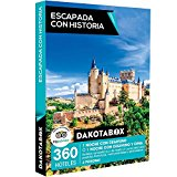 DAKOTABOX - Caja Regalo - ESCAPADA CON HISTORIA - 360 hoteles románticos y de hasta 4* en España