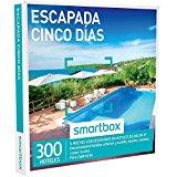 SMARTBOX - Caja Regalo -ESCAPADA CINCO DÍAS - 300 hoteles de hasta 4*, masías, casonas y casas rurales en España y Portugal