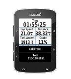 Garmin Edge 520 GPS - Ordenador de bicicleta sin banda de cardio y sensores de velocidad / cadencia, notificación inteligente, conexión ANT +