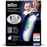 Braun IRT6520 ThermoScan 7 - Termómetro Digital Auricular con Precisión Profesional