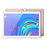 YUNTAB K98 Tablet de 9.6 pulgadas ( 3G, Auard-core,Android 5.1 Lollipop - dual cámara - Navegación GPS - Google Play - 1GB de RAM - 16GB - Batería de 5000 mha - Bluetooth 4.0 nuevo modelo) (rose gold)