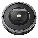 iRobot Roomba 871 Robot Aspirador Potente, Rendimiento de Limpieza, Sensores de Suciedad Dirt Detect, Todo Tipo de Suelos, Programable, Óptimo para el Pelo de Mascotas, 240 W, 61 Decibeles, Gris