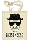 Bolsa de tela rostro Heisenberg. Breaking Bad