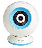 D-Link DCS-825L - Cámara WiFi de vigilancia para bebé (colores intercambiables, compatible con móviles o tabletas iOS y Android, HD)
