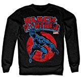 Marvels Black Panther Sweatshirt (Black), Medium