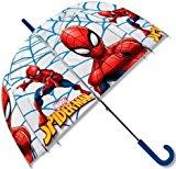 Spiderman Paraguas Transparente Campana, 69 cm de longitud