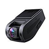 AUKEY Cámara Coche 4K HD Dash Cam Gran Ángulo, Supercondensateur, HDR Vision Nocturne Cámara Trasera avec Capteur-G, Enregistrement en Boucle et 2 Ports Chargeur de Voiture