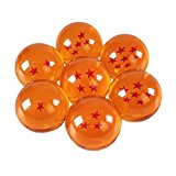 Katara Ball Z Con Caja Juego De 7 Bolas De Dragón Son Goku Con Estrellas Correspondientes, Cosplay, color naranja, 4 cm (1737)