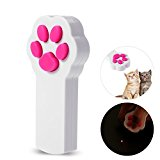 UEETEK Pata estilo gato captura la luz LED interactiva puntero ejercicio Chaser juguete mascota rayar la herramienta de formación