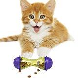 BIGWING Style-Almacenamiento para Gato Mascota Dispensador Juguete Interactivo Rodeado con Hueco Tener la Comida Haciendo Ejercicios, 4,80 x 1,90 Pulgada