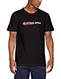 G-STAR RAW LON Regular RT S/s, Camiseta para Hombre, Negro (Black 990), Medium