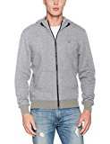 G-STAR RAW Core Hooded Zip Sw L/s Capucha, Gris (Grey Htr 906), Large para Hombre