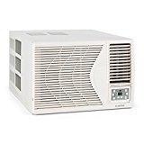 KLARSTEIN Frostik – climatizador de Ventana, compresor con 9.000 BTU/2,7 kW de Potencia, eficiencia energética de Clase A, refrigerante R32, Mando a Distancia, 16-30°C, programable, Blanco