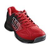 Wilson Kaos Stroke, Zapatillas de Tenis para Hombre, Rojo/ Negro (Wilson Red Wil/ Black/ White), 42 2/3 EU