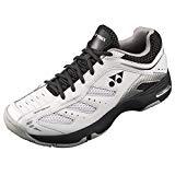 Yonex SHT Power Cushion Cefiro - Zapatillas de tenis para hombre, color blanco y gris, tamaño 9.5 UK