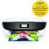 HP Envy Photo 6234 K7S21B, Impresora Multifunción Tinta A4, Color, Imprime, Escanea y Copia, Wi-Fi, USB 2.0, HP Smart App, Incluye 7 Meses del Servicio Instant Ink, Blanca y Negra
