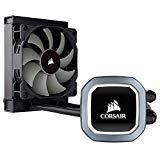 Corsair Hydro Series H60 2018 Sistema de Refrigeración Líquida para CPU, Radiador de 120 mm, Ventilador PWM, All-in-One, LED Blanco