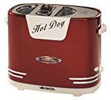 Ariete Party Time - Máquina de perritos calientes, color rojo (186)