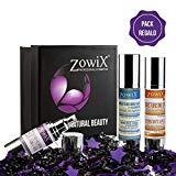 ZOWIX. Pack regalo mujer de Cosmetica Natural. Lote cremas antiarrugas, lifting y serum facial. Kit de belleza natural. Set antienvejecimiento. Un cofre antiedad