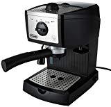 DeLonghi EC156.B Cafetera automática independiente, 1100 W, 1 L, 15 bares, de plástico, Negro, Metálico