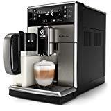 Saeco PicoBaristo SM5473/10 - Máquina espresso automática de acero inoxidable con jarra de leche