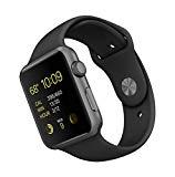 Apple Watch Sport 42 mm - Smartwatch iOS de aluminio en gris espacial (pantalla 1.65