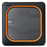 Western Digital My Passport - Disco duro externo, Wireless SSD, 1 TB, color negro y rojo