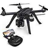 Potensic Drone GPS con cámara 2K HD FPV Video en Vivo, 5G WiFi Regreso a casa, RC Quadcopter para Adultos Profesionales, Motor sin escobillas, Sígueme, Compatible con cámara Deportiva, D85