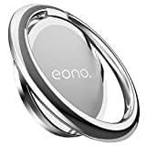 Eono Essentials Anillo Soporte Móvil, Soporte Teléfono : Soporte para Smartphones para Phone XS MAX XR X 8 7 6S 6 Plus 5S 5 4S 4, Samsung S10 S9 S8, Huawei, Otras Android Smartphones - Plata