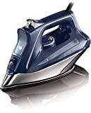 Rowenta DW8215D1 ProMaster Plancha de Ropa con Golpe 200 Vapor Continuo de 40 g/min, Suela Microsteam 400 HD Profile, Modo Eco y Sistema antical Integrado, 2800 W, 0.3 litros, Azul