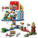 LEGO Super Mario - Pack Inicial: Aventuras con Mario, juguete y regalo creativo para niños y niñas, set LEGO interactivo con figuras de LEGO Mario, Bowsy y un Goomba (71360)